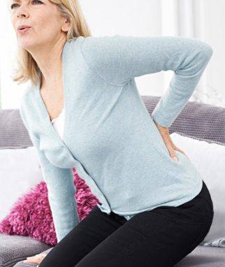 Dealing with acute or the sudden onset of back pain